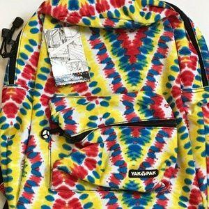 Yak Pak Tie-Dye Classic Student Backpack